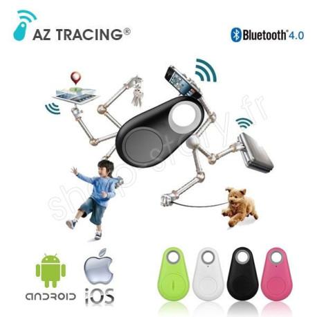 Porte-Clés Connecté Traceur Bluetooth Universel Anti-Perte Smartphone AZ TRACING