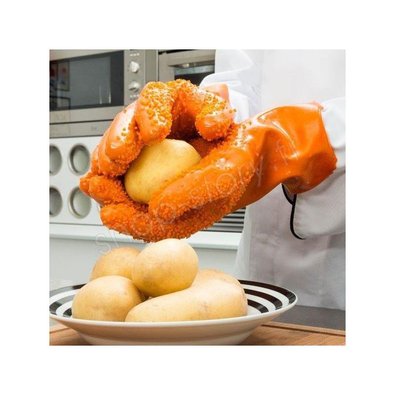 gants pluche patates 9 99 sp cial pommes de terre. Black Bedroom Furniture Sets. Home Design Ideas