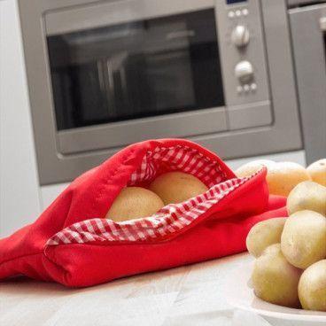 Poche Cuisson au Micro-onde pour Pommes de Terre Rapide Potato Express