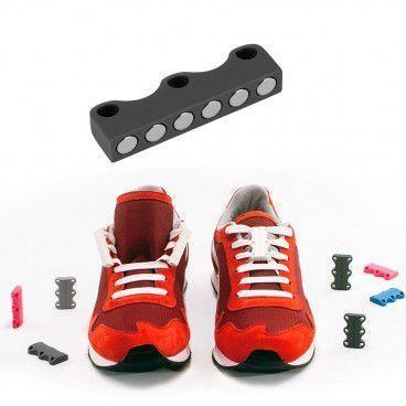 Laçage Facile par Fermoir Magnétique pour Chaussure à lacets