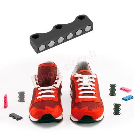 Laçage par Fermoir Magnétique pour Chaussure à lacets