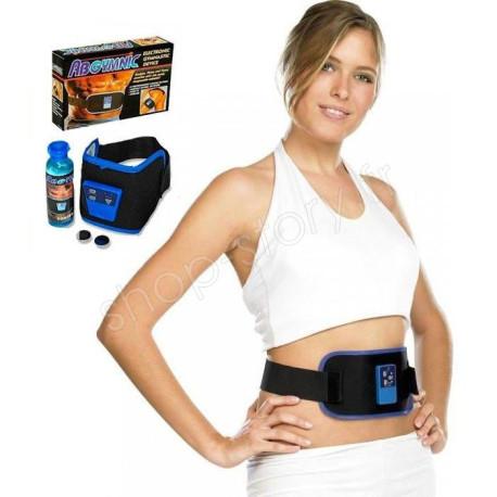 ABGYMNIC Ceinture Réglable Électro Stimulation De Musculation