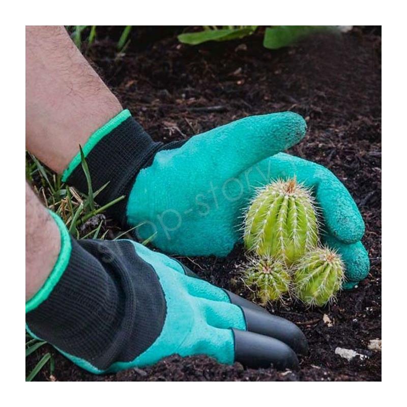 gants de jardinage 6 99 avec 4 griffes pour creuser. Black Bedroom Furniture Sets. Home Design Ideas