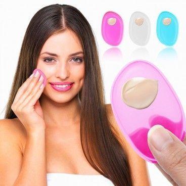 Applicateurs Éponges de Maquillage en Silicone