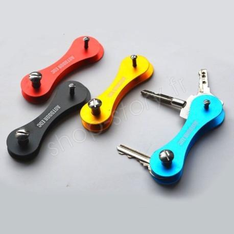 KeySmart Porte-Clé Intelligent Organisateur De Clés Compact Pour Trousseau à Clef En Aluminium