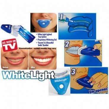 Kit de blanchiment dentaire white light pour des dents blanches