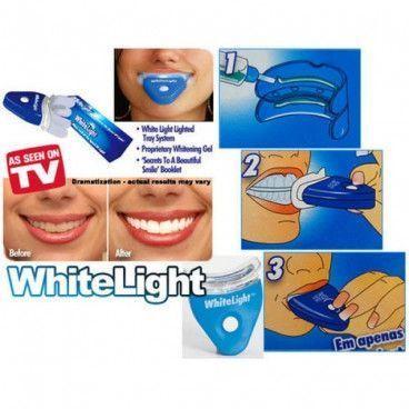 Kit de blanchiment dentaire white light pour des dents blanches