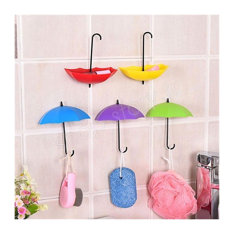 7cdd8b1a6cf5 Pack de 6 Parapluies 9,99 € Vide Poche et Porte-Clés Fixation Murale