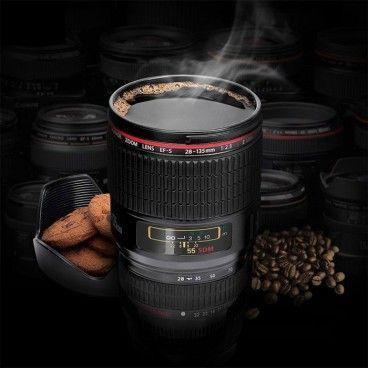 Tasse Mug Objectif d'Appareil Photo
