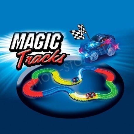 MAGIC TRACKS - Circuit Magique Flexible, Lumineux et Phosphorescent