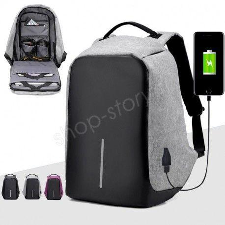 Sac à Dos Antivol Multi Compartiments + Sortie Usb