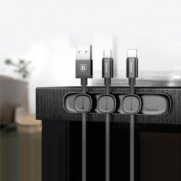 Organisateur de Câbles avec Clips Magnétiques