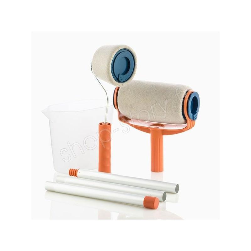 rouleaux peinture magique 19 99 anti claboussures avec r servoir. Black Bedroom Furniture Sets. Home Design Ideas