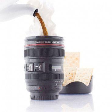 Tasse Mug Objectif Appareil Photo Zoom Téléobjectif