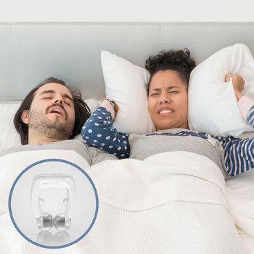 Solution Anti-Ronflement avec l'Anneau Nasal Anti-Ronflement Le Remède aux Ronflements Magnetic nose clip