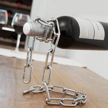 Chaîne Porte-Bouteilles de Vin