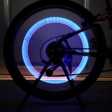 Lot de 2 Valves à LED Pour Roues de Vélo / Moto / Voiture