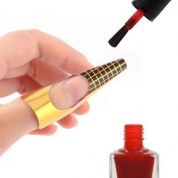 Manucure - Pack de 100 Guides Autocollants pour Nail Art