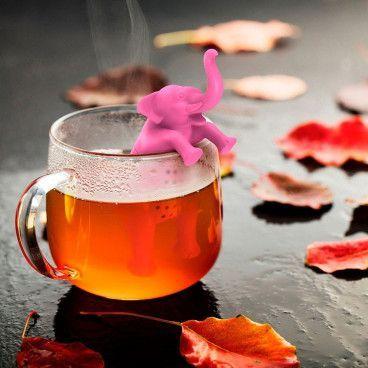 L'éléphant Rose - Infuseur à Thé