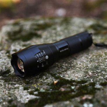 Lampe Torche Tactique Ultra Puissante - XML T6