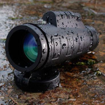Télescope Monoculaire Militaire Longue Distance 1500m / 9500m + Trépied + Accésoires