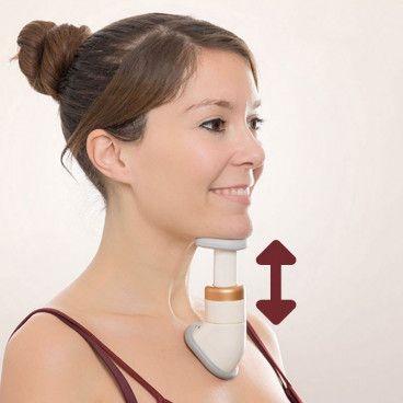 Réducteur de Double Menton et Massage de Cou