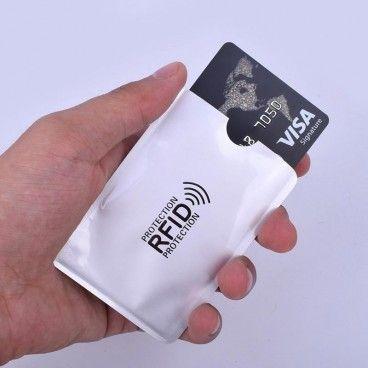 Pochette de Protection Anti-RFID pour Cartes Bancaires et Autres