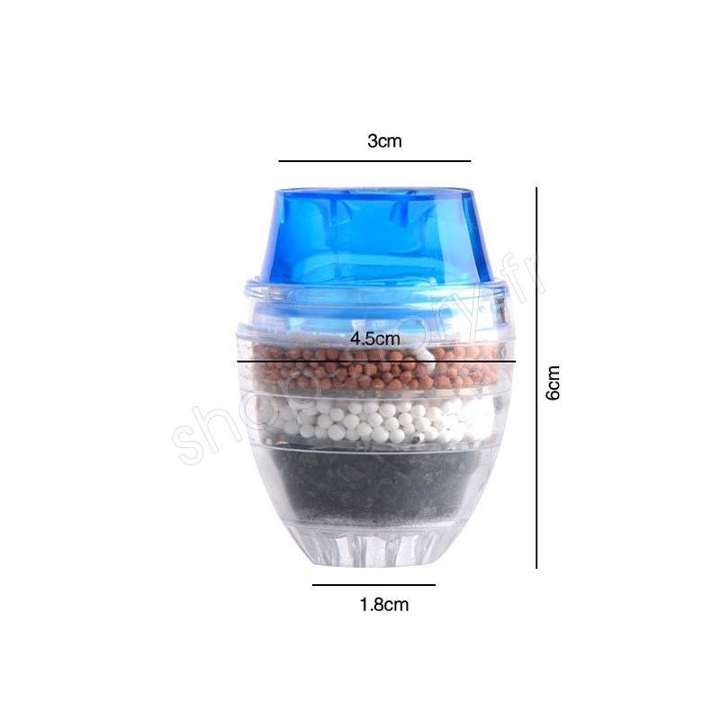 filtre purificateur d eau pour robinet 4 niveaux au charbon. Black Bedroom Furniture Sets. Home Design Ideas