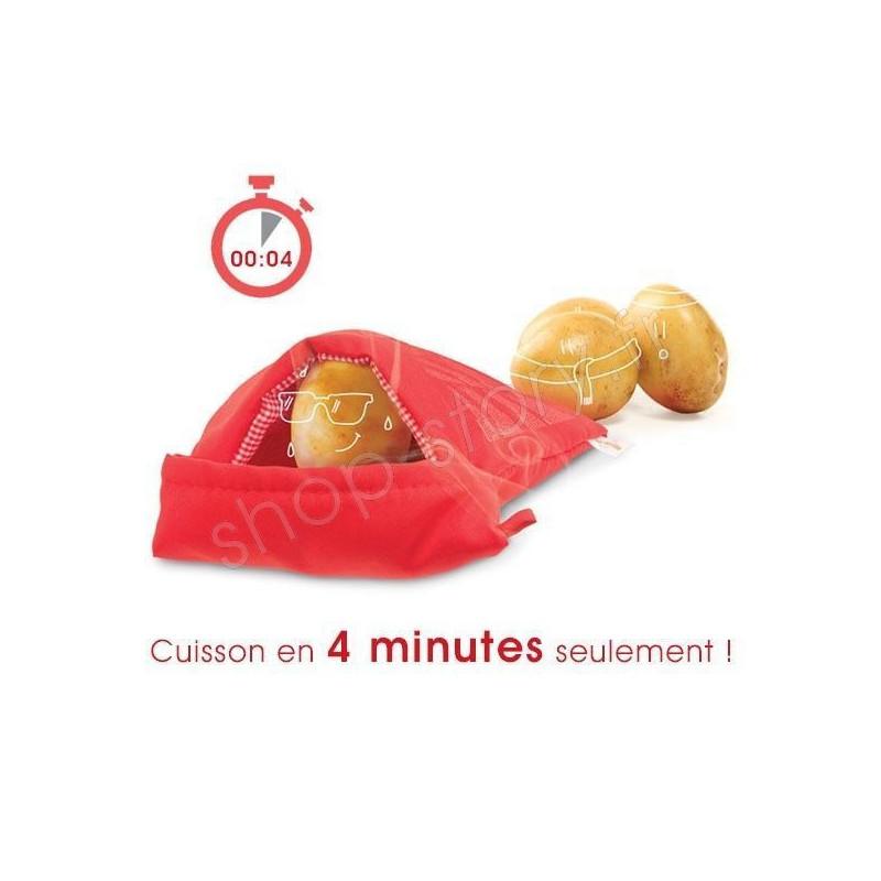 Sac de cuisson micro ondes 6 99 pour pommes de terre for Cuisson betterave au micro ondes