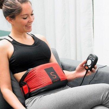 Ceinture Abdominale Vibrante De Musculation et Fitness Effet Sauna Dual Shaper Gym Form
