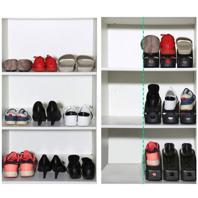 organisateurs de chaussures 3 99 range chaussures magique. Black Bedroom Furniture Sets. Home Design Ideas