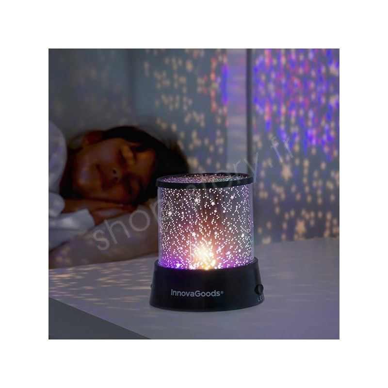 veilleuse led ciel toil projecteur lumi re toil e enfant. Black Bedroom Furniture Sets. Home Design Ideas