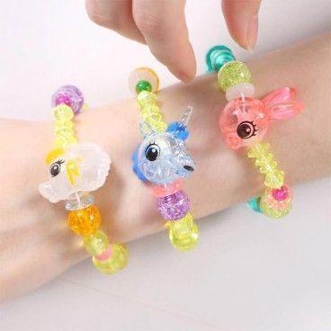 Bracelet Animal Magique : Élastique et créatif
