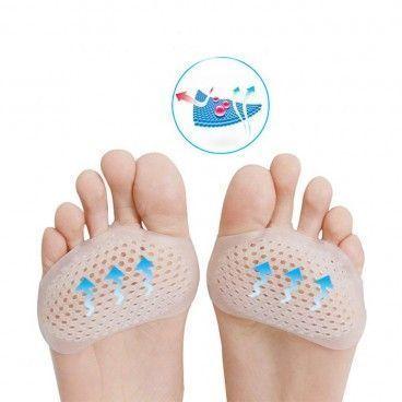 Paire de coussinets plantaires anti-douleurs pour l'avant du pied