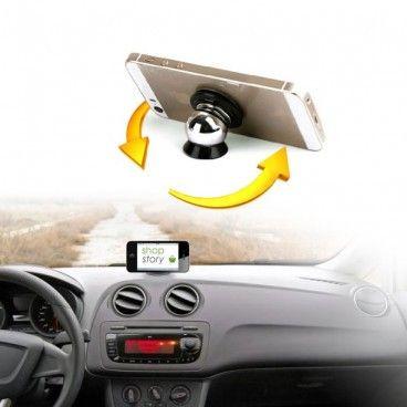 Support Magnétique Pour Téléphone Tablette GPS Pour Voiture Support Aimanté Universel