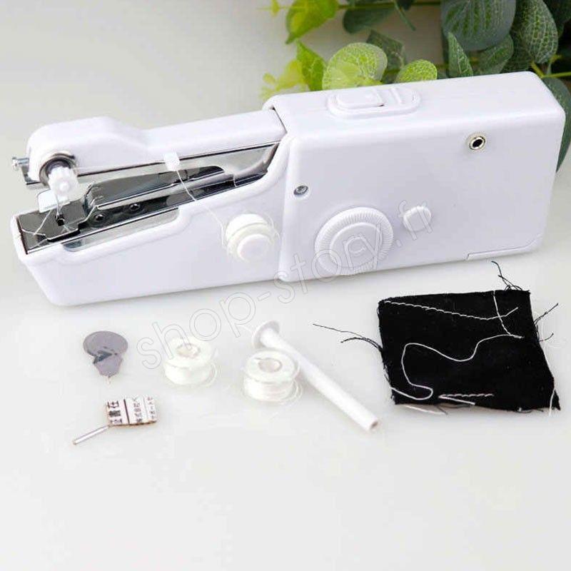 mini machine coudre electrique portative. Black Bedroom Furniture Sets. Home Design Ideas