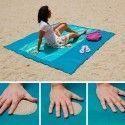 Drap de plage anti-sable