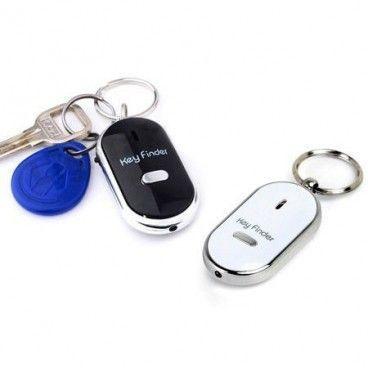 Porte-Clé Siffleur Futé avec LED - Trouve Clef Malin Keyfinder - Gadget pour Têtes en L'Air