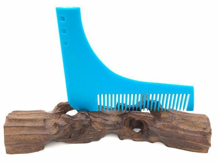 Peigne à tailler la barbe Guide pour des lignes parfaites après rasage GROUPON