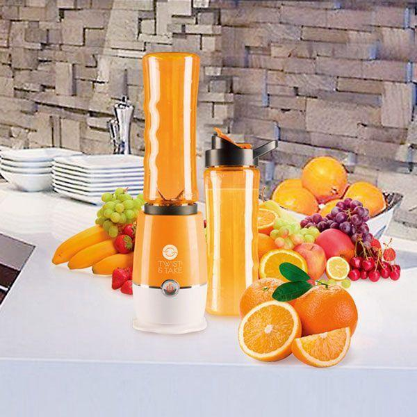 Blender Mixeur Smoothie Express Orange Twist Take Sport Pour Milkshakes et Jus De Fruits Groupon Lot pour Loto