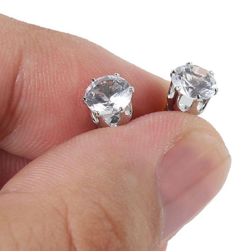 Boucles d'Oreilles Diamant / Aimants Minceur - Perte de Poids Naturelle GROUPON