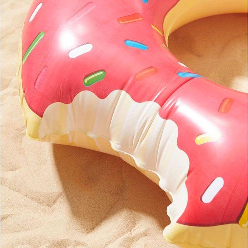 Bouée Flotteur Gonflable Beignet Donut Géant Rose GROUPON