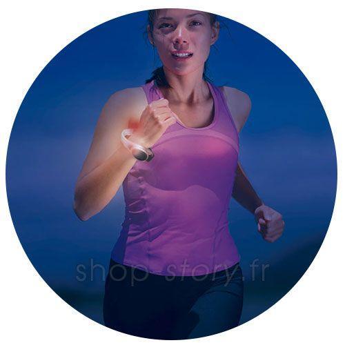 Brassard de Sécurité Sportif LED 2C