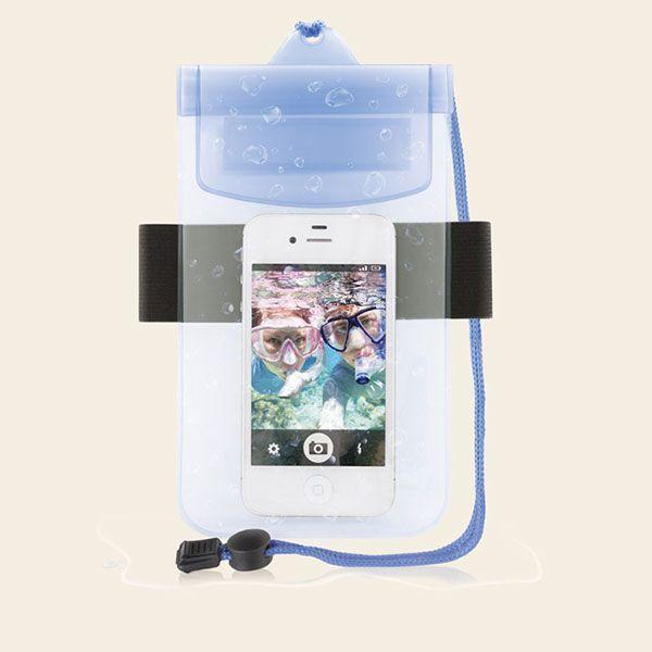 Brassard et housse tanche 6 99 pour smartphone iphone samsung htc - Ideal protection piscine ...
