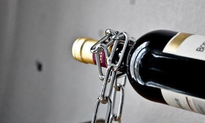 Porte bouteilles de vin et autres chaine magique neuf ebay - Diametre bouteille de vin ...