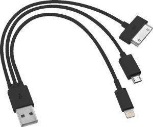 Chargeur Cable USB 3 En 1 Pour Smartphone Tablette Ipad Iphone et Micro Usb Pour Samsung HTC et Autres Groupon Lot pour Loto