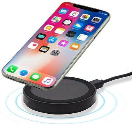 Chargeur Sans fil à Induction pour iPhone et Smartphones Samsung Sony HTC LG Micro-USB Groupon Lot pour Loto
