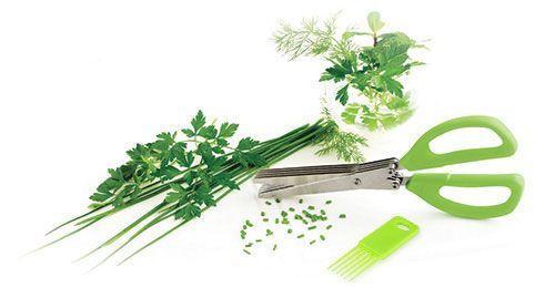 Ciseaux de Cuisine multi-Lames Spécial Herbes Aromatiques Emince Tout GROUPON AMAZON