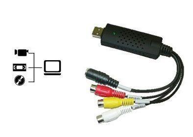 EASY CAP Convertisseur numérique VHS audio-vidéo vers USB 2.0