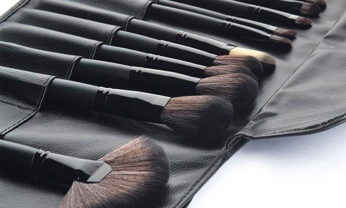 Cosmétique Make Up Brush Set 32 Pinceaux de Maquillage Professionnels avec Pochette